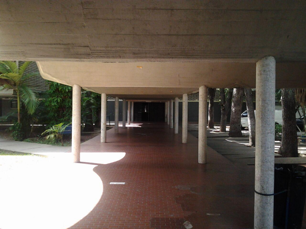 School of Engineering Venezuela Hallway