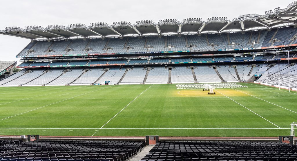 croke park - the calm before the storm