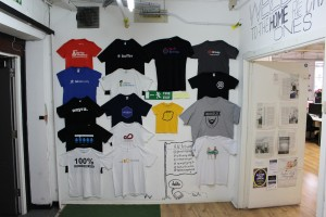 T-Shirts used for information
