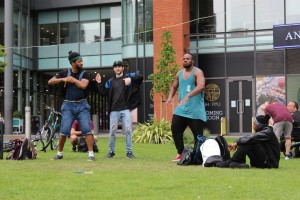 Break-dance in Manchester